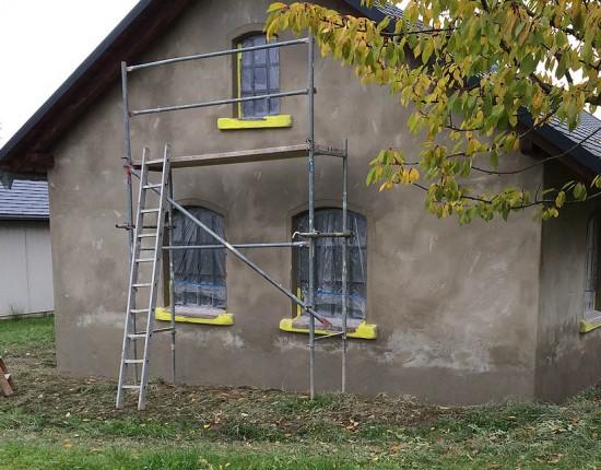 Neubau Schraubergarage Schönbach