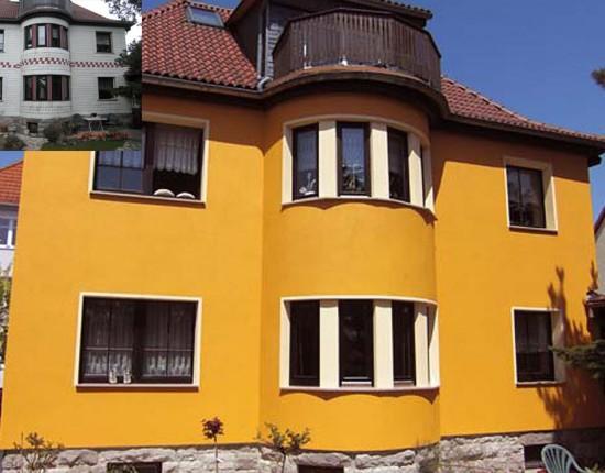 Sanierung Asbest-Fassade Ilmenau