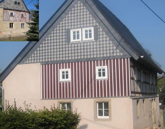 Sanierung historisches Wohnhaus